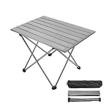Folding Camping Table, Desk Foldable Hiking Traveling Table