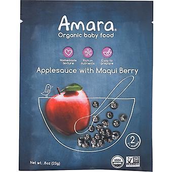 Amara Babynahrung ApfelMaqui, Etui von je 5 x 1