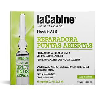 La Cabine Flash Hair Reapair Puntas Abiertas 7 X 5 Ml för kvinnor