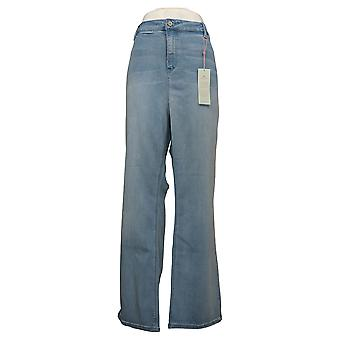 Laurie Felt Women's Jeans Regular Silky Denim Baby Bell w/ Fly Blue A301664