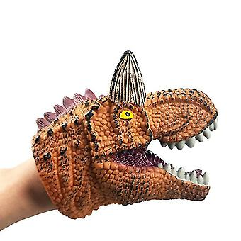 Dinosaur Hand Puppet For Kids Toys , Dinosaur Role Play Toy (Niulong)