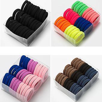 Frauen Bunte Nylon Elastische Haarbänder