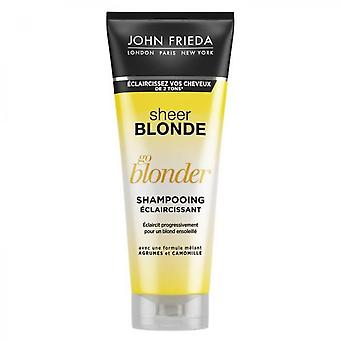 John Frieda Blonde Go Blonder Sheer Lettelse Shampoo - 250 Ml