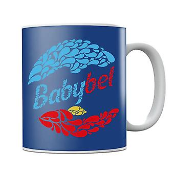 Baby Bel Blå och Röda Droppar Mugg