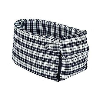 Portable dog bed travel armrest carrier