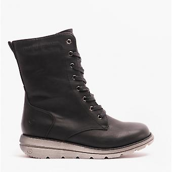 Heavenly Feet Martina3 Ladies Ankle Boots Black
