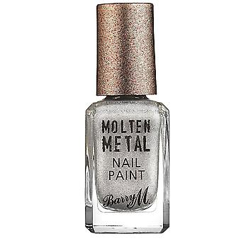 Barry M # Barry M Molten Metal Nail Polish - Holographic Lights #DISCON
