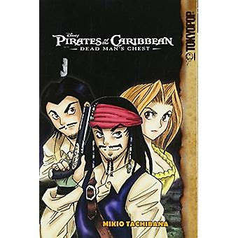 Disney Manga Pirates of the Caribbean  Dead Mans Chest  Dead Mans Chest by Illustrated by Mikio Tachibana