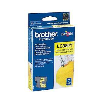 LC980Y ink cartridge yellow 260 pages