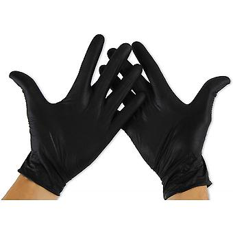 100 Pieces Of Disposable Nitrile Protective Gloves S Code