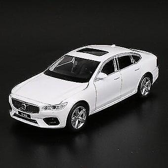 Toy cars 1:32 volvo s90 alloy car model diecasts toy vehicles metal car model sound light collection