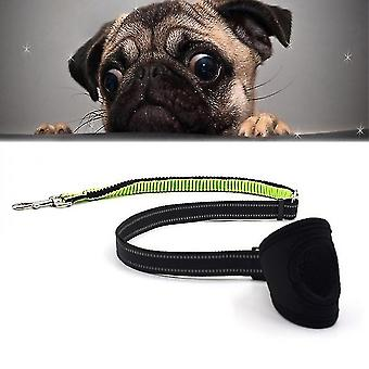 New Type Of Pet Dog Nylon Reflective Hand-held Rope With Adjustable Telescopic Traction