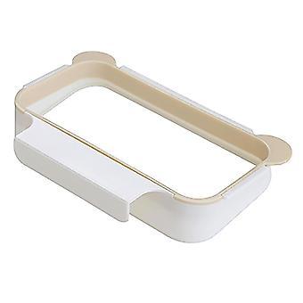 Nouveau design scandinave sur placard ou porte porte-sac poubelle suspendu (abricot)