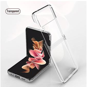 Samsung Galaxy Z Flip 3 Hülle, für Samsung Galaxy Z Flip 3 5g Galvanik Transparente ultradünne Schutzhülle