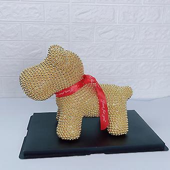 40cm Bajin Hochwertige All Pearl Lucky Dog Valentinstag Geschenk