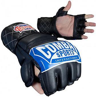 Combat sport MMA konkurranse hansker med tommelen - svart