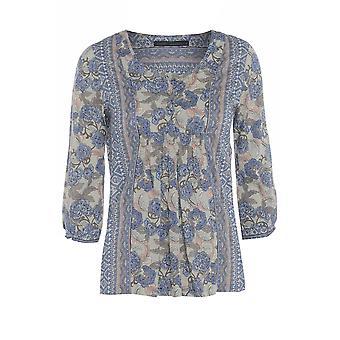 Next Cotton Rich Floral Shirt TP283-10
