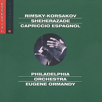 N. Rimski-Korsakov-Rimsky-Korsakov: Sheherazade; Capriccio Espagnol [CD] USA import