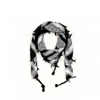 Rock daddy - arafat scarf - black/white check