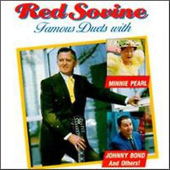 Red Sovine - Famous Duets [CD] USA import