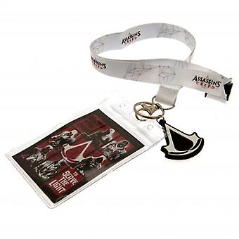 Assassins Creed Lanyard & Keyring sæt