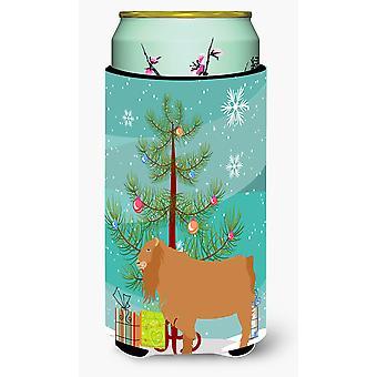 American Lamancha Goat Christmas Tall Boy Beverage Insulator Hugger