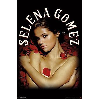 سيلينا غوميز-طباعة ملصق الورود