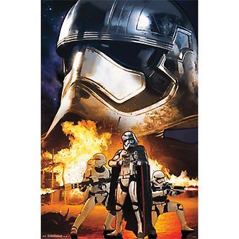 Star Wars The Force erwacht - Troopers-Plakat-Druck