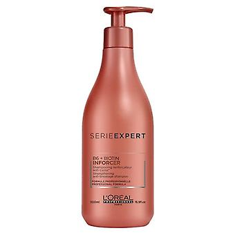 L ' Oreal Serie Expert B6 + Biotin Inforcer Shampoo 500ml
