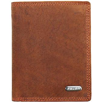 Felda Rfid Blocking Leather Wallet For Men Upright With Coin, Bank Note, Credit Card, Id Compartments - Gift Boxed
