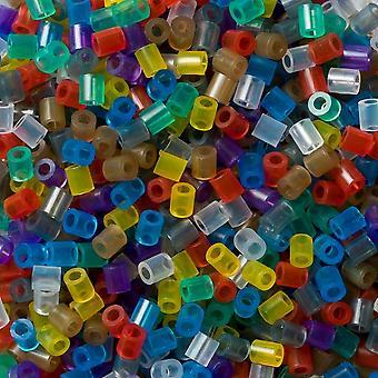 Hama cuentas 1000 grano Pack mezcla translúcida - 53