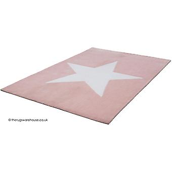 Dream Big Star Pink Rug