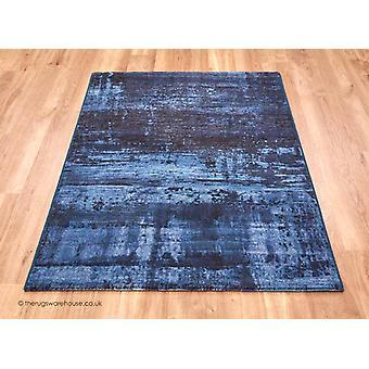Waiko blauw tapijt