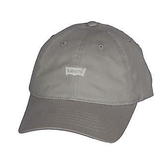 Clásico Twill curva Flexfit 110 Cap de Levi ~ Mini murciélago gris claro