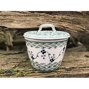 Wax pot with lid, ↑11, 5 cm, Ø11 BSN, cm, tradition 97 J-3447