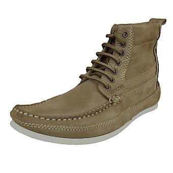 Henleys Men's Smokie Suede Leather Casual Boots