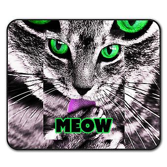 Meow Kitty Paw Cute Cat  Non-Slip Mouse Mat Pad 24cm x 20cm | Wellcoda