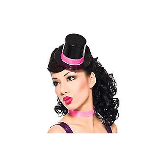 Mini Slimline Latex Rubber Top Hat With Removable Trim Band