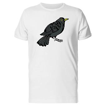 Pieni musta lintu Tee Men-kuva: Shutterstock