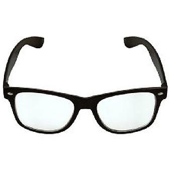 Klaren Linse Wayfarer Brille