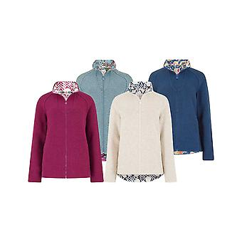Weird Fish Ladies Damla Full Zip Fleece