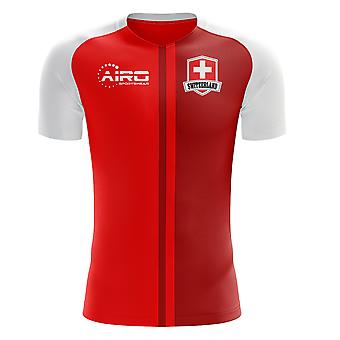 2020-2021 Suisse Home Concept Football Shirt