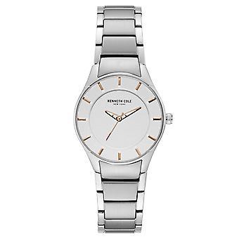 Da polso orologio analogico al quarzo in acciaio inox Kenneth Cole New York donna KC15201001