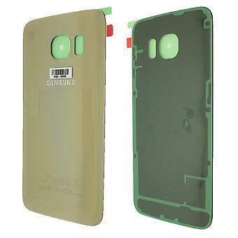 Authentique or Samsung Galaxy S6 bord couverture arrière
