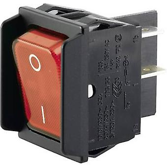 Marquardt Toggle switch 01835.3602-00 250 V AC 16 A 2 x Off/On IP40 latch 1 pc(s)