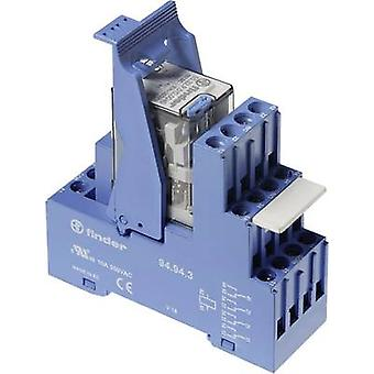 Finder 59.34.9.024.5050 7A Relay Interface Module 4 changeover 24 V DC IP20