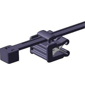 HellermannTyton 156-00011 T50ROSEC22-MC5-BK-D1 kabel slips 200 mm svart Lateral bunta 1 dator