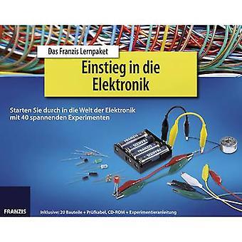 Franzis Verlag Einstieg in die Elektronik 65196 Course material 14 years and over