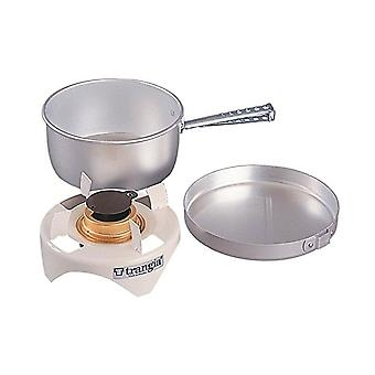 Trangia Open Spirit Stove Cookset (Brass Burner w/ Stand)