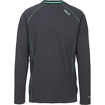 Trespass Mens Drax Quick Drying Long Sleeve Running T Shirt